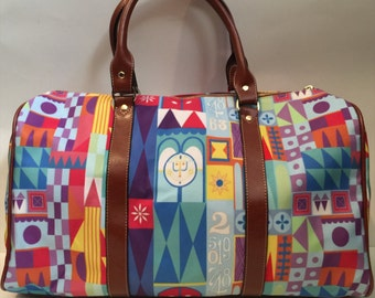 Made to Order (Ships in 4 weeks)  A Smile Means Friendship to Everyone Overnight Bag