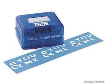 Creative Memories You and me border punch