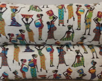 African Lady Pillow