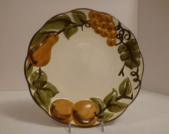 Stangl Sculptured Fruit 10'' Plate #5179