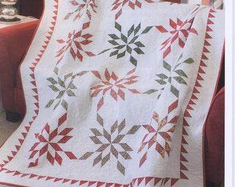 Winterberry Quilt Pattern Designed by Jocelyn Ueng