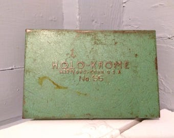 Holo-Krome, No. 66, Allen Wrenches, Hex Wrenches and Metal Case, Hartford, Conn. USA, Collectibles, Tools, Mechanics, RhymeswithDaughter