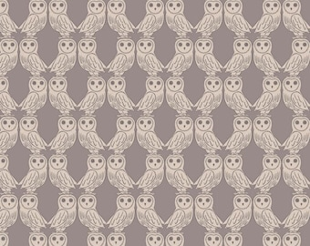 Enchanted Forest - A189.1 - Owls On Latte - from Lewis & Irene