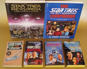 Star Trek & Star Trek TNG Book Collection