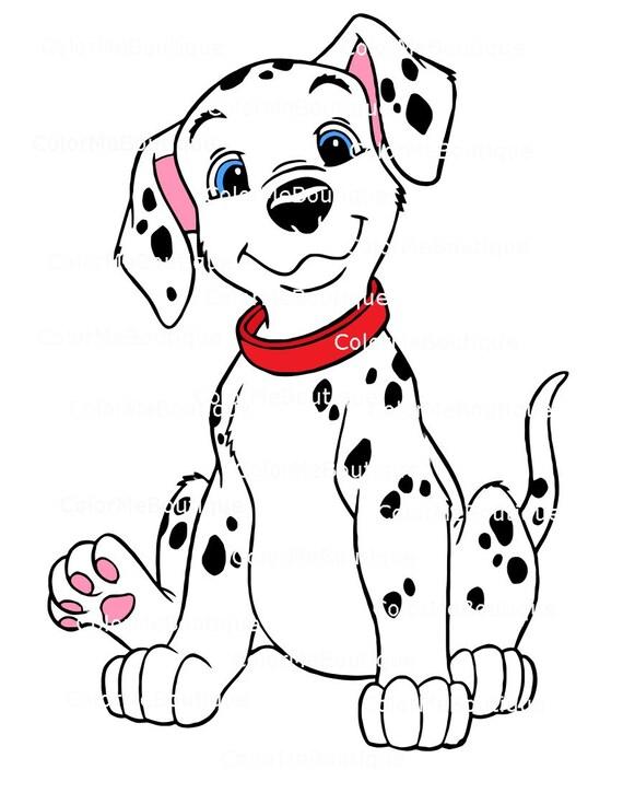dalmatian clipart rh etsy com dalmatian puppy clipart dalmatian puppy clipart