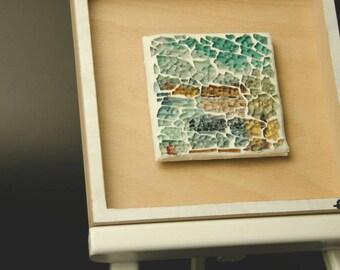 Right now-colorful mosaic, artwork, unique