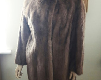 Fabulous Vintage Canadian Blonde Mink Coat in Superb Condition - By Perley of Ontario
