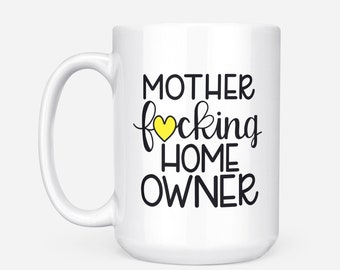 New Home Housewarming Gift, New Home Gift, Gift For New Homeowners, New House Gift, Funny Housewarming, Unique House Warming, Homeowner Mug