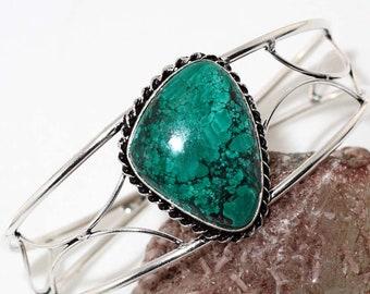 Turquoise Adjustable Handmade Bangle