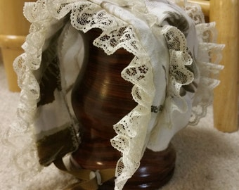 Small baby cotton bonnet, Realtree bonnet, Realtree baby bonnet