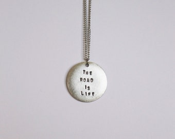 Silver Layering Necklace (On The Road)