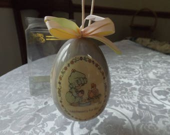 Precious Moments  1996 Vintage Easter egg in original box. Gift idea. New old stock.