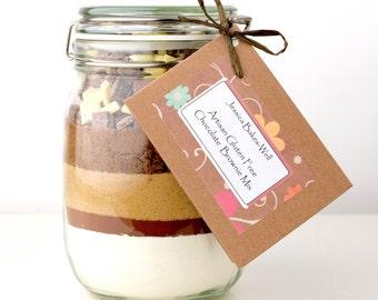 Brownie Mix - GLUTEN FREE Chocolate Brownie Mix - Great Taste Award Winner