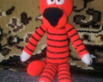 Amigurumi Pattern, Crochet Pattern, Stuffed Animal, Tiger,crochet amigurumi tigerа