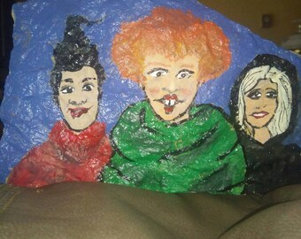 Painted rock a little Hocus Pocus