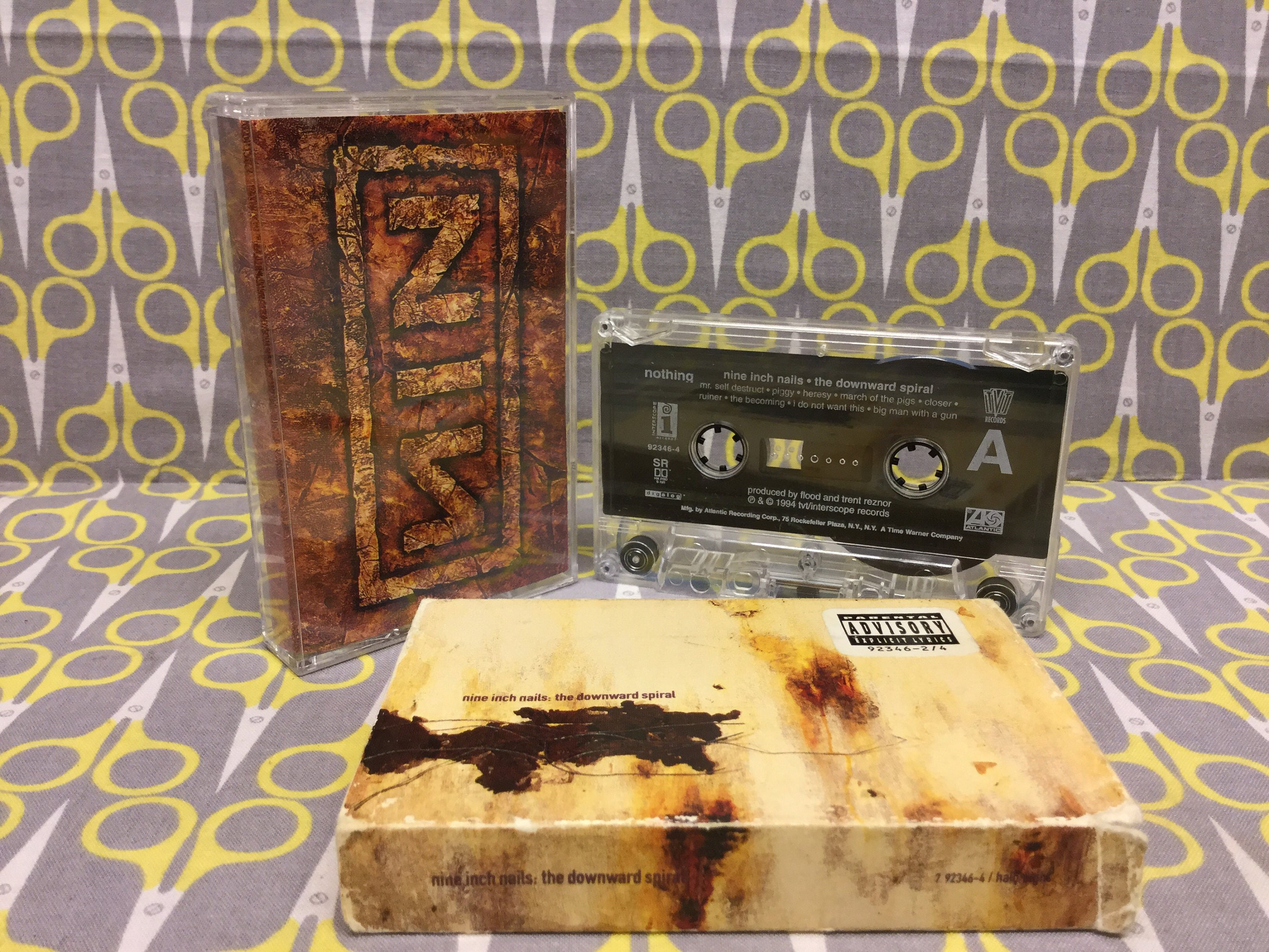 The Downward Spiral by Nine Inch Nails Cassette Tape