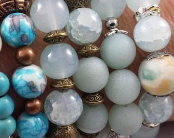 Women bracelet, stretch bracelet, gift for woman, beaded bracelet, handmade