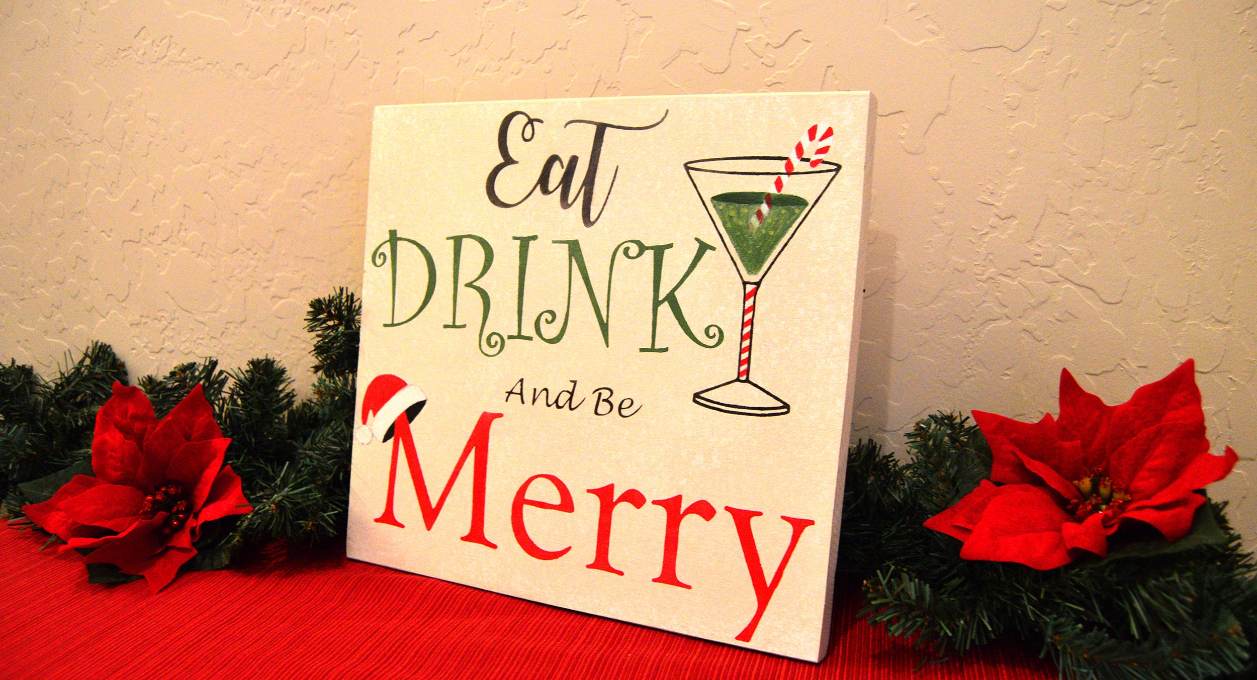 Exelent Eat Drink And Be Merry Wall Decor Collection - Art & Wall ...