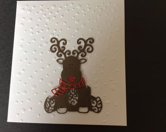 Rudolph the Reindeer Christmas card