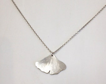 Ginkgo necklace
