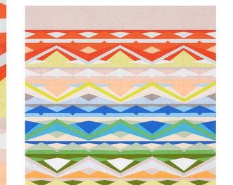 Russell Quilt Pattern by Carolyn Friedlander (Paper Pattern)