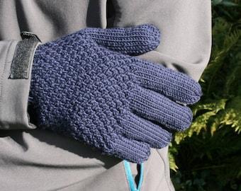 Men's merino wool gloves - choice of colour