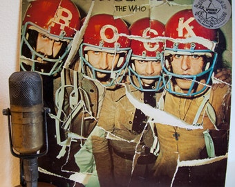 """The Who Vinyl Lp Record Album Vintage 1970s British Classic Rock Pete Townshend Roger Daltrey Keith Moon """"Odds & Sods""""(1980 Mca re-issue)"""