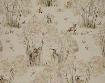 Voyage Decoration Sherwood Forest Linen Fabric! 53/47% Linen/Cotton.  IN STOCK. Best Prices!!