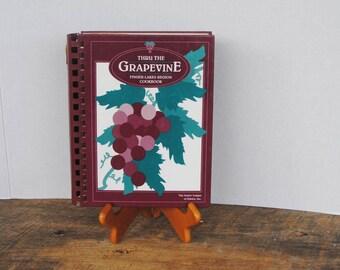 Thru The Grapevine Finger Lakes Region Cookbook Junior League 1991