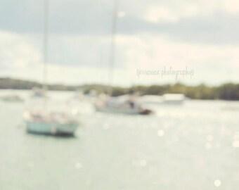 Sailboat Photography, Sailboat Print, St John, USVI, Ocean Print, Ocean Photography, Nautical Decor, Nautical Art, Boat Photography