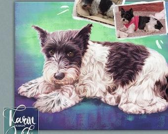 Custom pet portrait  Detailed Portraits. Personalized pets portrait. Portrait drawing. Custom illustration. Bespoke illustration.