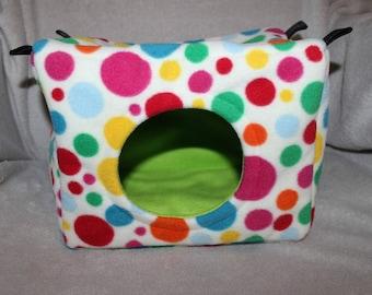 Custom made to order small animal bed / cube (ferret, chinchilla, rat, degu)