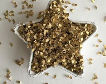 Gold Confetti | Gold Baby Shower Decor | Gold Wedding Confetti | Party Confetti | Table Confetti | Shower Confetti | Gold Wedding Confetti