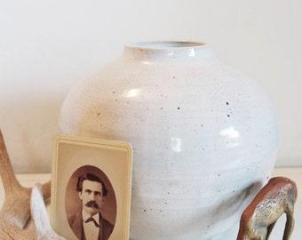 Vintage Pottery Vase/ Earthenware Pottery Vase