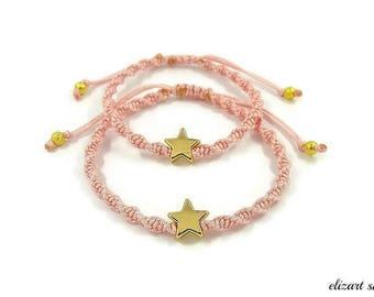 Mommy and me bracelet set, matching bracelets for mother daughter, mother daughter bracelet, mommy and me jewelry, wish bracelet.