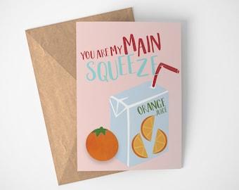 Funny Love Cards, Cheesy Card, Cheesy Birthday Card, Funny Cards Hand Made, Hilarious Cards, Card For Wife, Card For Husband, BFF Card