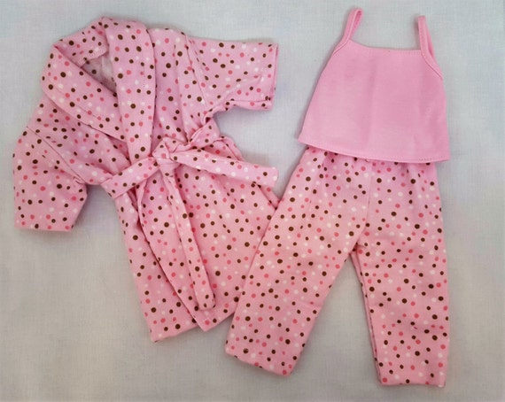 18 Inch American Handmade Bathrobe and Pajamas Doll Clothes