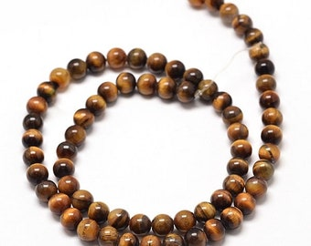 Natural  Bead Strands, 8mm (0.24 inch)