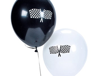 6/ My Racing Party Balloons / Race Party/ Race car Party Theme / My race car theme / Race car / racing theme