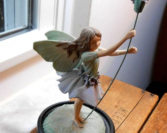 LAVENDER Flower Fairy Figurine - Heinrich Limited Edition - Cicely Mary Barker