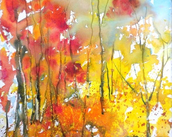 New England Fall-Scape No.16, limited edition of 50 fine art giclee prints