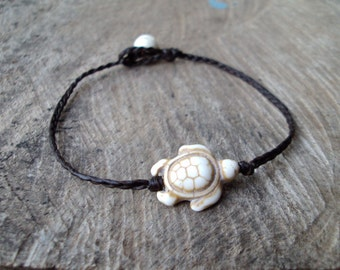 Turtle bracelets,Stone bracelets,Howlite bracelets,Beadwork bracelets,Women bracelets