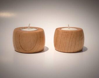 Cherry Tea Light Candle Holders (Set of 2)