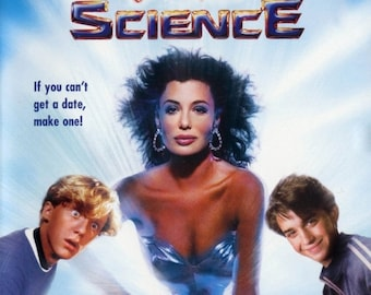 Spring Sales Event: WEIRD SCIENCE Movie POSTER John Hughes 80's