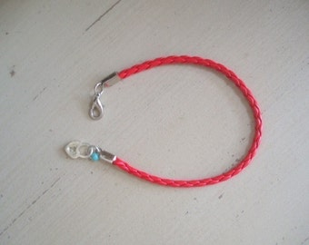Love locker bracelet Key to heart Imotion luck keeper By RedBracelet on ETSY