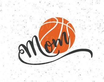 Basketball mom svg Basketball mom svg files Ball svg Basketball svg Basketball svg file Sport svg Cricut file Silhouette Basketball mom