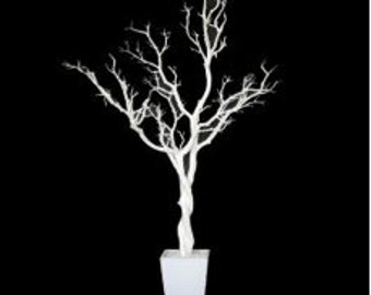 Antiqued White Tree