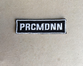 Prcmdnn Sew On patch
