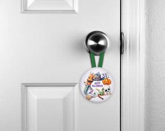 Door Hangers, Hanging Nameplates, Hanging Halloween Ornament, Personalised Nameplate, Personalized, Child's Room Nameplate (0072)