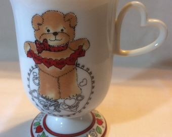 """Lucy and Me Valentine Mug """"This Bears My Love To You"""""""